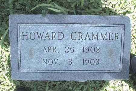 GRAMMER, HOWARD - Benton County, Arkansas | HOWARD GRAMMER - Arkansas Gravestone Photos