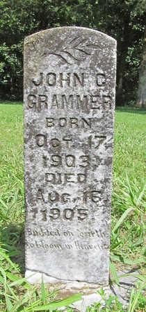GRAMMER, JOHN C - Benton County, Arkansas | JOHN C GRAMMER - Arkansas Gravestone Photos