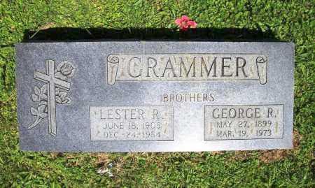 GRAMMER, LESTER R. - Benton County, Arkansas | LESTER R. GRAMMER - Arkansas Gravestone Photos