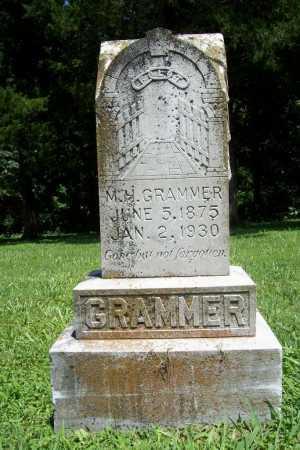GRAMMER, MARION H - Benton County, Arkansas   MARION H GRAMMER - Arkansas Gravestone Photos