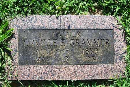 GRAMMER, ORVILLE F. - Benton County, Arkansas | ORVILLE F. GRAMMER - Arkansas Gravestone Photos