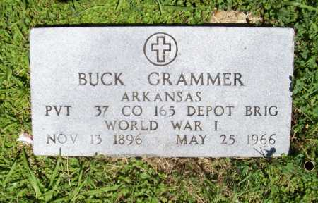 GRAMMER (VETERAN WWI), BUCK - Benton County, Arkansas | BUCK GRAMMER (VETERAN WWI) - Arkansas Gravestone Photos