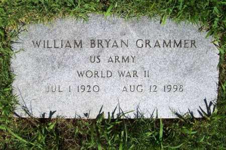 GRAMMER (VETERAN WWII), WILLIAM BRYAN - Benton County, Arkansas | WILLIAM BRYAN GRAMMER (VETERAN WWII) - Arkansas Gravestone Photos