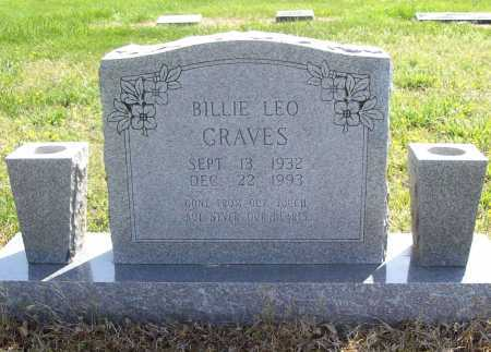 GRAVES, BILLIE LEO - Benton County, Arkansas | BILLIE LEO GRAVES - Arkansas Gravestone Photos