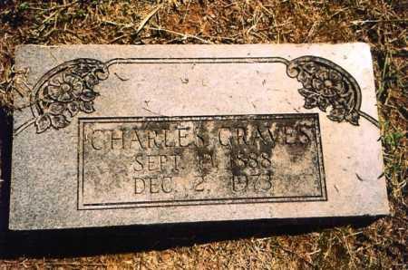 GRAVES, CHARLES - Benton County, Arkansas | CHARLES GRAVES - Arkansas Gravestone Photos