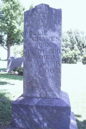 GRAVES, DOLLIE - Benton County, Arkansas   DOLLIE GRAVES - Arkansas Gravestone Photos
