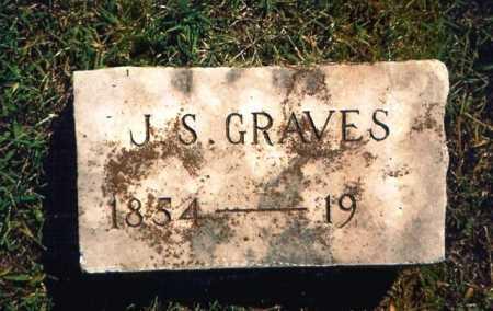 GRAVES, J. S. - Benton County, Arkansas | J. S. GRAVES - Arkansas Gravestone Photos