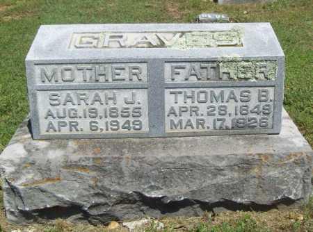 GRAVES, THOMAS BENTON - Benton County, Arkansas | THOMAS BENTON GRAVES - Arkansas Gravestone Photos