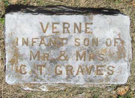 GRAVES, VERNE - Benton County, Arkansas | VERNE GRAVES - Arkansas Gravestone Photos