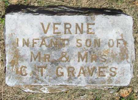 GRAVES, VERNE - Benton County, Arkansas | VERNE GRAVES - Arkansas Gravestone Photos
