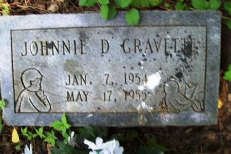 GRAVETTE, JOHNNIE D. - Benton County, Arkansas | JOHNNIE D. GRAVETTE - Arkansas Gravestone Photos