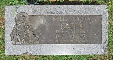 MYERS GREEN, BELLE - Benton County, Arkansas | BELLE MYERS GREEN - Arkansas Gravestone Photos