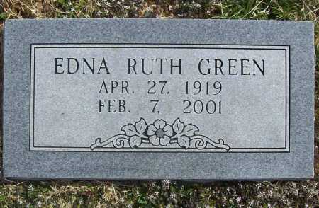 GREEN, EDNA RUTH - Benton County, Arkansas | EDNA RUTH GREEN - Arkansas Gravestone Photos