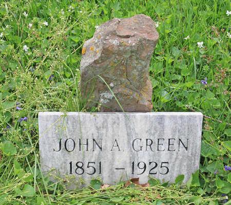 GREEN, JOHN ARNETT - Benton County, Arkansas | JOHN ARNETT GREEN - Arkansas Gravestone Photos