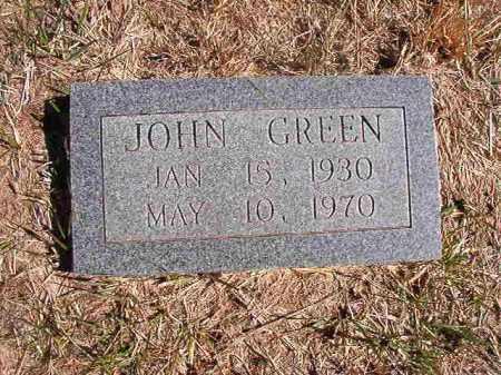 GREEN, JOHN EARL - Benton County, Arkansas | JOHN EARL GREEN - Arkansas Gravestone Photos