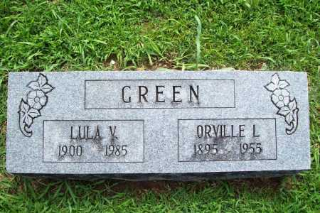 GREEN, ORVILLE L. - Benton County, Arkansas | ORVILLE L. GREEN - Arkansas Gravestone Photos
