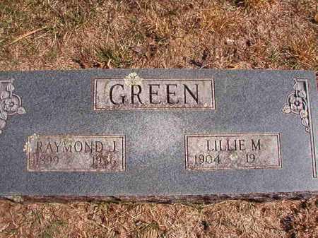 GREEN, RAYMOND J. - Benton County, Arkansas | RAYMOND J. GREEN - Arkansas Gravestone Photos