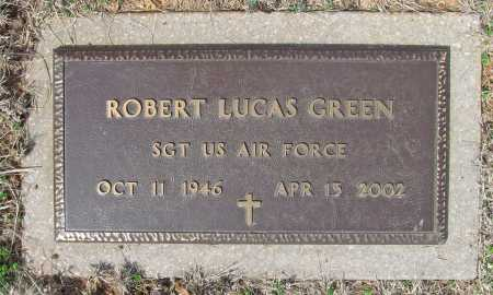 GREEN (VETERAN), ROBERT LUCAS - Benton County, Arkansas | ROBERT LUCAS GREEN (VETERAN) - Arkansas Gravestone Photos