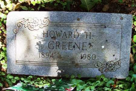 GREENE, HOWARD H. - Benton County, Arkansas   HOWARD H. GREENE - Arkansas Gravestone Photos