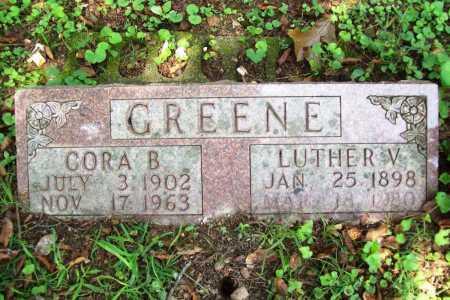 GREENE, LUTHER V. - Benton County, Arkansas | LUTHER V. GREENE - Arkansas Gravestone Photos