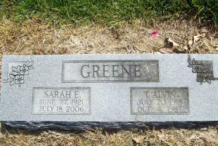 DYE GREENE, SARAH E. RITA - Benton County, Arkansas | SARAH E. RITA DYE GREENE - Arkansas Gravestone Photos