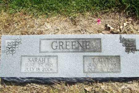 DYE GREENE, SARAH E. RITA - Benton County, Arkansas | SARAH E. RITA DYE GREENE - Arkansas Gravestone Photos