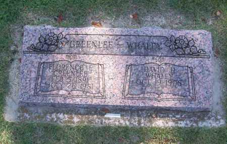 GREENLEE, FLORENCE E. - Benton County, Arkansas | FLORENCE E. GREENLEE - Arkansas Gravestone Photos