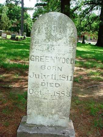 GREENWOOD, ALFRED B. - Benton County, Arkansas   ALFRED B. GREENWOOD - Arkansas Gravestone Photos