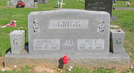 GRIGG, BLUEBELL J - Benton County, Arkansas | BLUEBELL J GRIGG - Arkansas Gravestone Photos