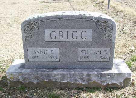 GRIGG, ANNIE S. - Benton County, Arkansas | ANNIE S. GRIGG - Arkansas Gravestone Photos