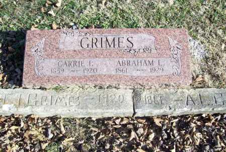 GRIMES, CARRIE I. - Benton County, Arkansas | CARRIE I. GRIMES - Arkansas Gravestone Photos