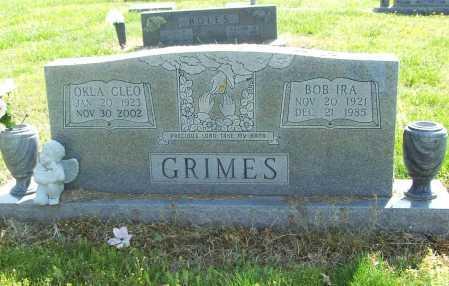 BROWN GRIMES, OKLA CLEO - Benton County, Arkansas | OKLA CLEO BROWN GRIMES - Arkansas Gravestone Photos
