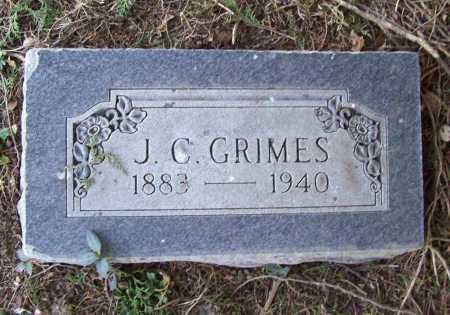 GRIMES, J. C. - Benton County, Arkansas | J. C. GRIMES - Arkansas Gravestone Photos