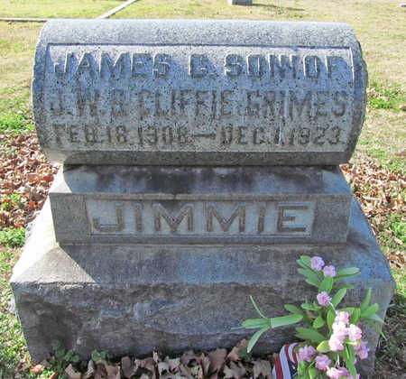 GRIMES, JAMES CLIFFORD - Benton County, Arkansas | JAMES CLIFFORD GRIMES - Arkansas Gravestone Photos