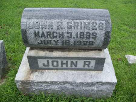 GRIMES (VETERAN), JOHN ROBERT - Benton County, Arkansas   JOHN ROBERT GRIMES (VETERAN) - Arkansas Gravestone Photos