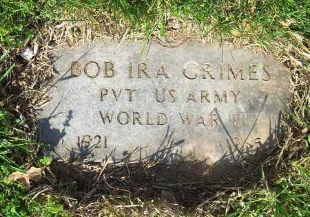 GRIMES (VETERAN WWII), BOB IRA - Benton County, Arkansas   BOB IRA GRIMES (VETERAN WWII) - Arkansas Gravestone Photos