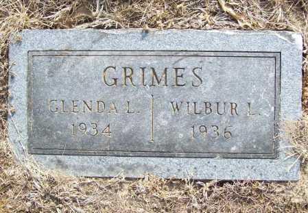 GRIMES, GLENDA L. - Benton County, Arkansas | GLENDA L. GRIMES - Arkansas Gravestone Photos