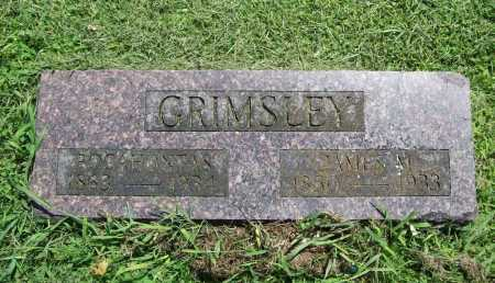 GRIMSLEY, JAMES MADISON - Benton County, Arkansas | JAMES MADISON GRIMSLEY - Arkansas Gravestone Photos