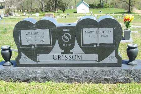 GRISSOM, WILLARD A. - Benton County, Arkansas | WILLARD A. GRISSOM - Arkansas Gravestone Photos