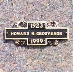 GROSVENOR, HOWARD H. - Benton County, Arkansas   HOWARD H. GROSVENOR - Arkansas Gravestone Photos