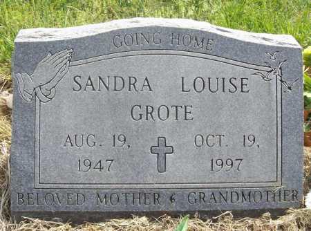 GROTE, SANDRA LOUISE - Benton County, Arkansas   SANDRA LOUISE GROTE - Arkansas Gravestone Photos