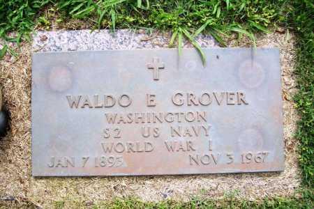 GROVER (VETERAN WWI), WALDO E. - Benton County, Arkansas | WALDO E. GROVER (VETERAN WWI) - Arkansas Gravestone Photos