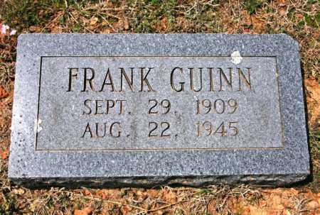 GUINN, FRANK (1) - Benton County, Arkansas | FRANK (1) GUINN - Arkansas Gravestone Photos