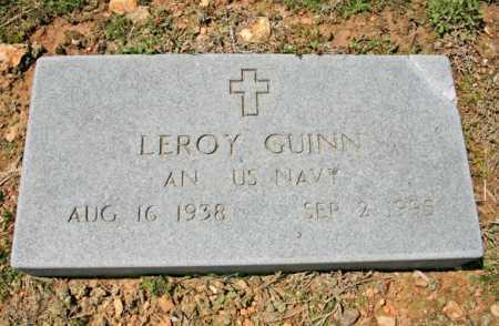 GUINN (VETERAN), LEROY - Benton County, Arkansas | LEROY GUINN (VETERAN) - Arkansas Gravestone Photos