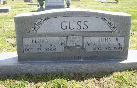 GUSS, JOHN RILEY - Benton County, Arkansas | JOHN RILEY GUSS - Arkansas Gravestone Photos