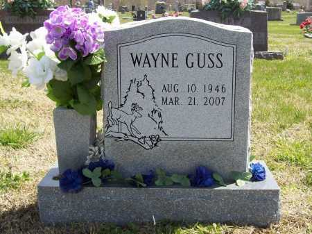 GUSS, MARVIN WAYNE - Benton County, Arkansas | MARVIN WAYNE GUSS - Arkansas Gravestone Photos