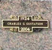 GUSTAFSON (VETERAN), CHARLES GORDON - Benton County, Arkansas | CHARLES GORDON GUSTAFSON (VETERAN) - Arkansas Gravestone Photos