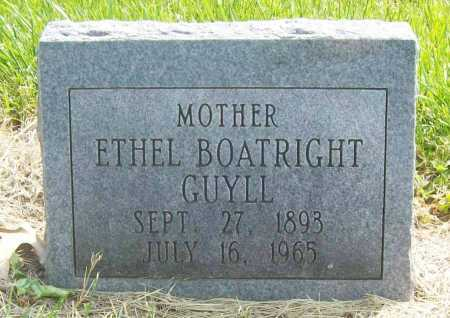 GUYLL, ETHEL - Benton County, Arkansas | ETHEL GUYLL - Arkansas Gravestone Photos