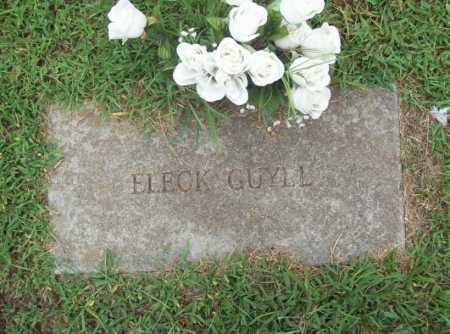 "GUYLL, LEE ALEXANDER ""ELECK"" - Benton County, Arkansas | LEE ALEXANDER ""ELECK"" GUYLL - Arkansas Gravestone Photos"