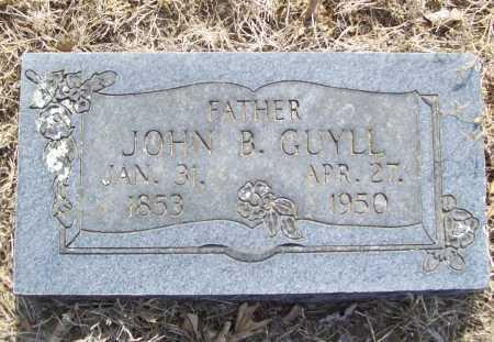 GUYLL, JOHN B. - Benton County, Arkansas   JOHN B. GUYLL - Arkansas Gravestone Photos